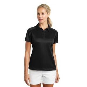 Ladies Nike Golf Dri-Fit Pebble Texture Polo Shirt