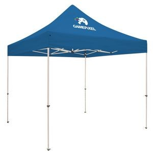 Standard 10' Tent Kit (Full-Color Imprint, 1 Location)